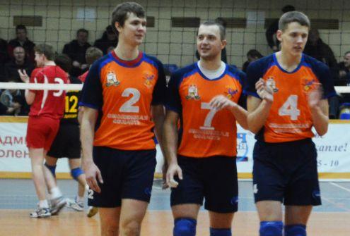 Феникс одержал уверенную победу над ДЮСШ-Самотлором 3-0