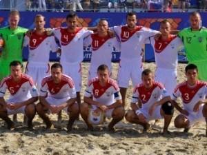 Россия обыграла Португалию в финале Кубка Европы по пляжному футболу