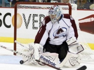 Российский вратарь признан лучшим игроком матча НХЛ
