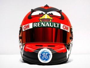 Ковалайнен выйдет на старт Формулы-1 с птицей из Angry Birds на шлеме