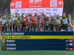 Россияне остались без медалей в первой гонке ЧМ по биатлону