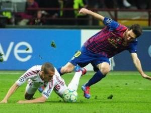 «Барселона» пожалуется в УЕФА на газон в Милане