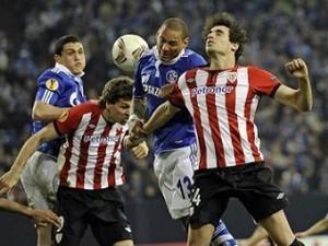 «Шальке» и «Атлетик» забили шесть мячей в матче Лиги Европы