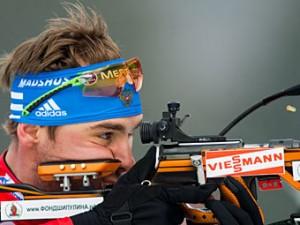 Биатлонист Шипулин принес России первую медаль на ЧМ-2012