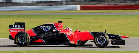 Команда Формулы-1 Marussia представила новый болид