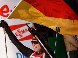 Россиянки остались без медалей в эстафете на ЧМ по биатлону