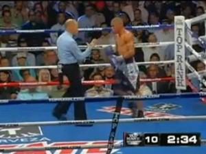Экс-чемпион мира лишился боксерской лицензии на год