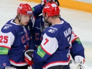 Шесть хоккеистов СКА вызваны в сборную России