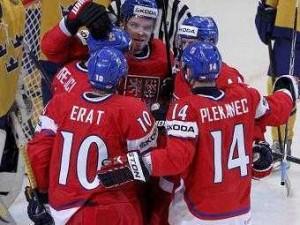 Чехия вышла в полуфинал чемпионата мира по хоккею
