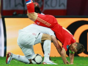 Нападающий сборной России считает неудачным ничейный результат