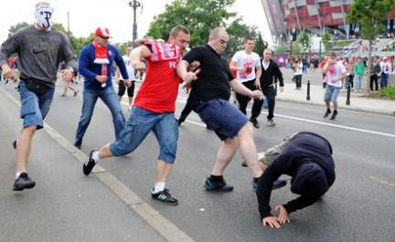 Смоленские болельщики не пострадали в результате стычек с польскими фанатами