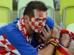 Хорватия осталась без четвертьфинала Евро-2012
