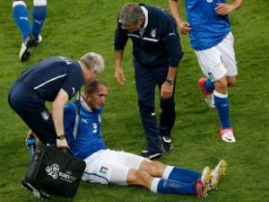 Сборная Италии потеряла защитника перед матчем c Англией