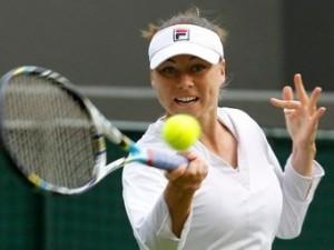 Вера Звонарева одержала победу в первом круге Уимблдона