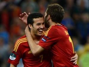 Испания вышла в финал Евро-2012