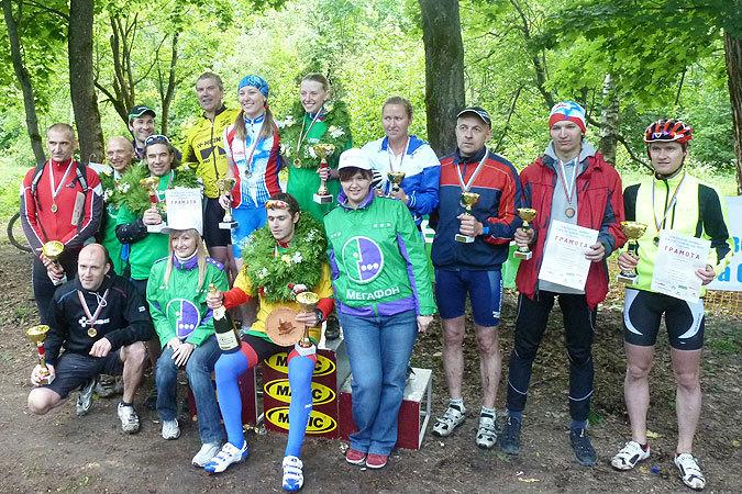 В Смоленске прошли гонки на велосипедах по пересеченной местности «Смоленские холмы 2012»
