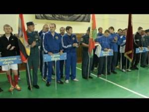 В Смоленске завершаются соревнования по мини-футболу среди сотрудников МЧС