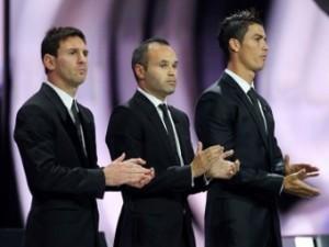 Названы три номинанта на «Золотой мяч»