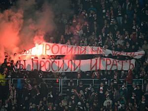 Фанаты «Локомотива» пытались устроить провокацию на матче «Спартака» в ЛЧ