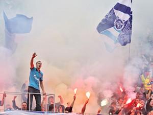 Фанаты «Зенита» решили отказаться от пиротехники на матче Лиги чемпионов