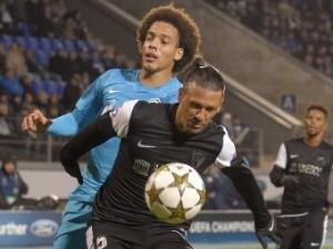 «Зенит» сыграл вничью с «Малагой» в Лиге чемпионов