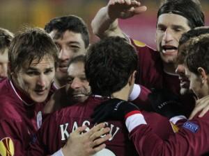«Рубин» разгромил «Интер» в матче Лиги Европы