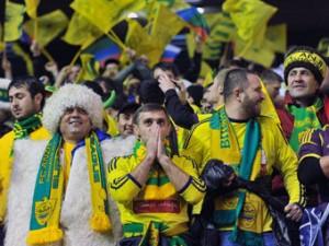 «Анжи» избавится от московских болельщиков на матчах Лиги Европы