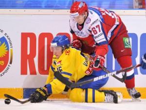 Российские хоккеисты победили шведов на Кубке Карьяла