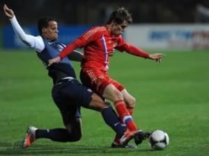 Сборная России по футболу сыграла вничью с американцами