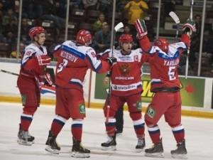 Российская хоккейная «молодежка» выиграла серию у канадцев