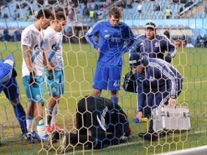 По факту причинения травмы вратарю «Динамо» возбудят уголовное дело