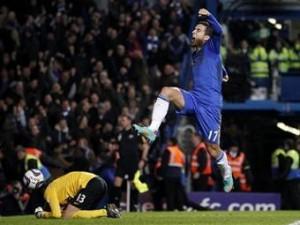 «Челси» забил «МЮ» пять голов в Кубке английской лиги