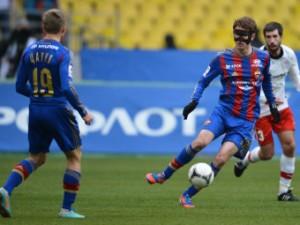 ЦСКА выиграл у «Амкара» в чемпионате России по футболу