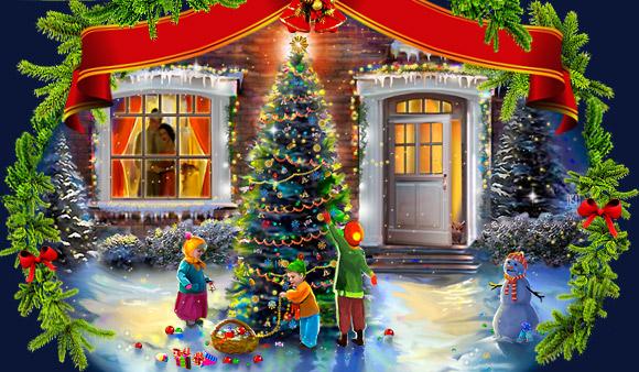 Сказка стучится в ваш дом. В ожидании новогодних сюрпризов.