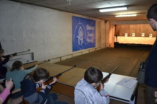 В Смоленске состоялся чемпионат города среди юных снайперов