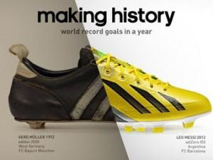 Adidas выпустил рекламу в честь футбольного рекорда Месси