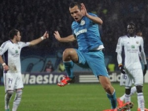 Александр Кержаков пропустит матч с «Миланом»