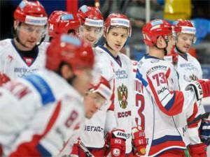Сборная России по хоккею проведет матч в Санкт-Петербурге