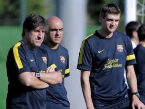 В «Барселоне» нашли временного главного тренера