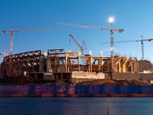 Названа дата окончания строительства стадиона «Зенита»
