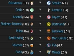 «Манчестер Юнайтед» сыграет с «Реалом» в плей-офф Лиги чемпионов