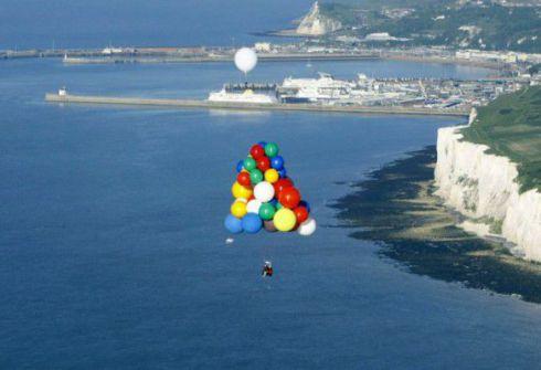 Трансатлантический перелет на воздушных шарах