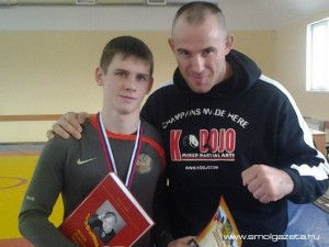 Смоленский борец стал чемпионом Псковщины