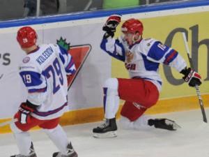 Российские хоккеисты в овертайме обыграли словаков на молодежном ЧМ
