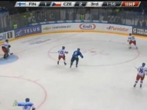Чешские хоккеисты обыграли финнов на молодежном ЧМ