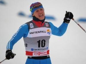 Российский лыжник выиграл золото на этапе Кубка мира