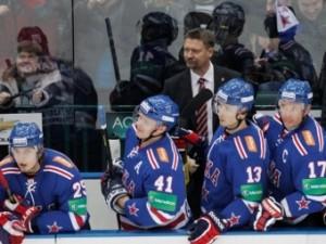 СКА победил в первом матче под руководством нового тренера