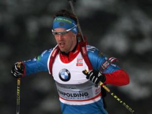 Биатлонист Малышко выиграл серебро в масс-старте