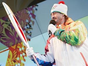 Представлен факел эстафеты Олимпийских игр в Сочи