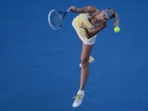 Шарапова разгромила японскую теннисистку на Australian Open